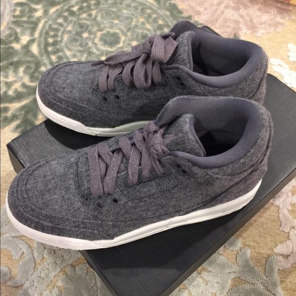 5y Jordan Wool Box Size 4 Air New Nike 3's With 8vmwyn0NO